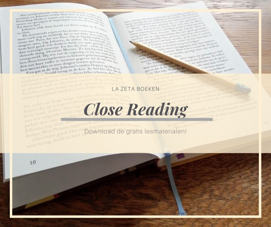 Close reading lesbrief